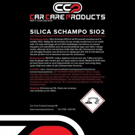 Car Care Products - Silica Schampo 1L